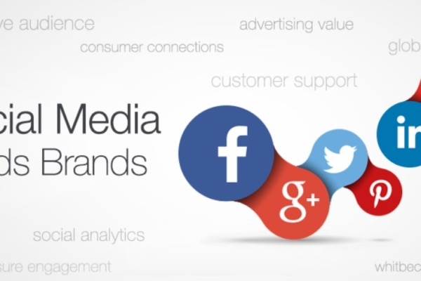 social media builds brands