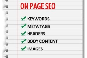 On-Page SEO takes many forms